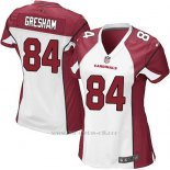 Camiseta Arizona Cardinals Gresham Blanco Rojo Nike Game NFL Mujer