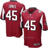 Camiseta Atlanta Falcons Jones Rojo Nike Game NFL Nino