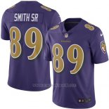 Camiseta Baltimore Ravens Smith Sr Nike Legend NFL Violeta Hombre