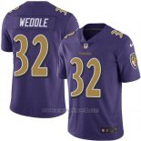 Camiseta Baltimore Ravens Weddle Violeta Nike Legend NFL Hombre