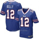 Camiseta Buffalo Bills Kelly Azul Nike Elite NFL Hombre