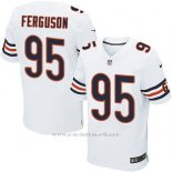 Camiseta Chicago Bears Ferguson Blanco Nike Elite NFL Hombre
