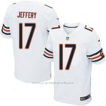 Camiseta Chicago Bears Jeffery Blanco Nike Elite NFL Hombre