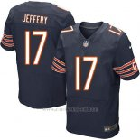 Camiseta Chicago Bears Jeffery Profundo Azul Nike Elite NFL Hombre