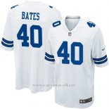 Camiseta Dallas Cowboys Bates Blanco Nike Game NFL Nino