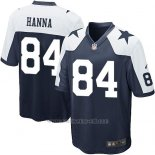 Camiseta Dallas Cowboys Hanna Negro Blanco Nike Game NFL Nino