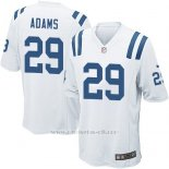 Camiseta Indianapolis Colts Adams Blanco Nike Game NFL Nino