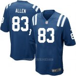 Camiseta Indianapolis Colts Allen Azul Nike Game NFL Hombre