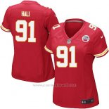 Camiseta Kansas City Chiefs Hali Rojo Nike Game NFL Mujer