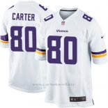 Camiseta Minnesota Vikings Carter Blanco Nike Game NFL Hombre