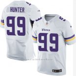 Camiseta Minnesota Vikings Hunter Blanco Nike Elite NFL Hombre