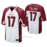 Camiseta NFL Game Hombre Arizona Cardinals Jalen Tolliver Blanco