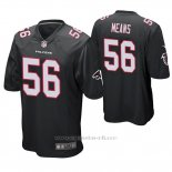 Camiseta NFL Game Hombre Atlanta Falcons Steven Means Negro