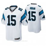 Camiseta NFL Game Hombre Carolina Panthers Chris Hogan Blanco