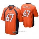 Camiseta NFL Game Hombre Denver Broncos Don Barclay Naranja
