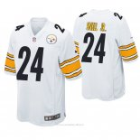 Camiseta NFL Game Hombre Pittsburgh Steelers Benny Snell Jr. Blanco