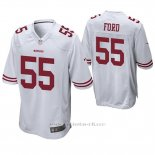 Camiseta NFL Game Hombre San Francisco 49ers Dee Ford Blanco