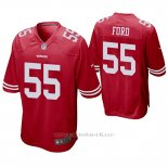 Camiseta NFL Game Hombre San Francisco 49ers Dee Ford Rojo