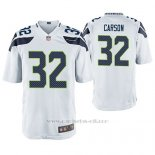 Camiseta NFL Game Hombre Seattle Seahawks Chris Carson Blanco