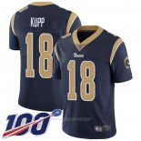 Camiseta NFL Game Los Angeles Rams 18 Cooper Kupp Azul