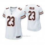 Camiseta NFL Game Mujer Chicago Bears Kyle Fuller Blanco