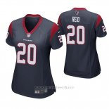 Camiseta NFL Game Mujer Houston Texans Justin Reid Azul