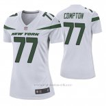 Camiseta NFL Game Mujer New York Jets Tom Compton Blanco