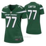 Camiseta NFL Game Mujer New York Jets Tom Compton Verde