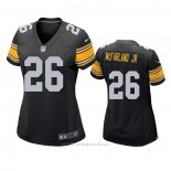 Camiseta NFL Game Mujer Pittsburgh Steelers Anthony Mcfarland Jr. Negro