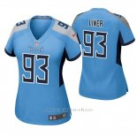 Camiseta NFL Game Mujer Tennessee Titans Dee Liner Azul Luminoso