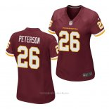 Camiseta NFL Game Mujer Washington Redskins Adrian Peterson Rojo