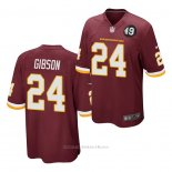 Camiseta NFL Game Washington Redskins Antonio Gibson Rojo
