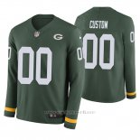 Camiseta NFL Hombre Green Bay Packers Personalizada Verde Therma Manga Larga
