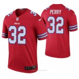 Camiseta NFL Legend Hombre Buffalo Bills Senorise Perry Color Rush Rojo