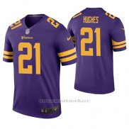 Camiseta NFL Legend Hombre Minnesota Vikings Mike Hughes Violeta Color Rush