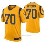 Camiseta NFL Legend Hombre St Louis Rams Joseph Noteboom Oro Color Rush