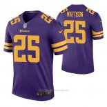 Camiseta NFL Legend Minnesota Vikings Alexander Mattison Color Rush Violeta