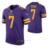 Camiseta NFL Legend Minnesota Vikings Kaare Vedvik Color Rush Violeta