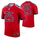 Camiseta NFL Legend Tennessee Titans Adoree' Jackson Inverted Rojo