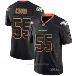 Camiseta NFL Limited Denver Broncos Chubb Lights Out Negro