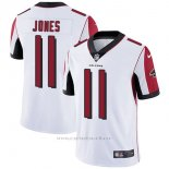 Camiseta NFL Limited Hombre Atlanta Falcons 11 Jones Blanco