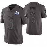 Camiseta NFL Limited Hombre Atlanta Falcons Matt Bryant Gris Super Bowl LIII