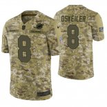 Camiseta NFL Limited Hombre Camo Brock Osweiler 2018 Salute To Service Jersey