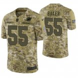 Camiseta NFL Limited Hombre Camo Jerome Baker 2018 Salute To Service Jersey