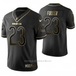 Camiseta NFL Limited Hombre Chicago Bears Kyle Fuller Golden Edition Negro