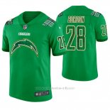 Camiseta NFL Limited Hombre Los Angeles Chargers Melvin Gordon St. Patrick's Day Verde