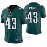 Camiseta NFL Limited Hombre Philadelphia Eagles Darren Sproles Verde Vapor Untouchable