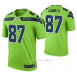 Camiseta NFL Limited Hombre Seattle Seahawks Darrell Daniels Verde Color Rush