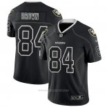 Camiseta NFL Limited Las Vegas Raiders Brown Lights Out Negro