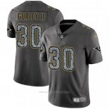Camiseta NFL Limited Los Angeles Rams Gurley II Static Fashion Gris